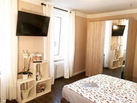 Comfy double bedroom in Nordend-Ost