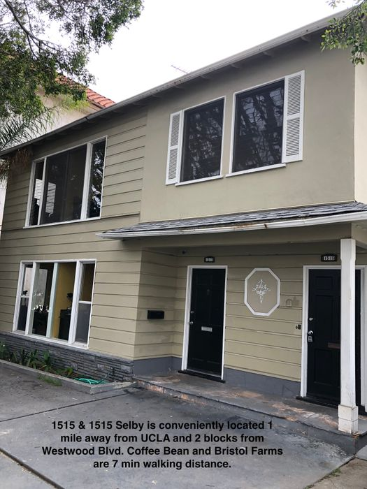 Student accommodation photo for 1515 & 1517 Selby in Westwood, Los Angeles