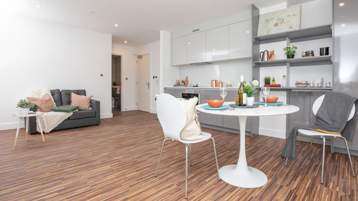Student accommodation photo for Westpoint Chester Road in Old Trafford, Manchester