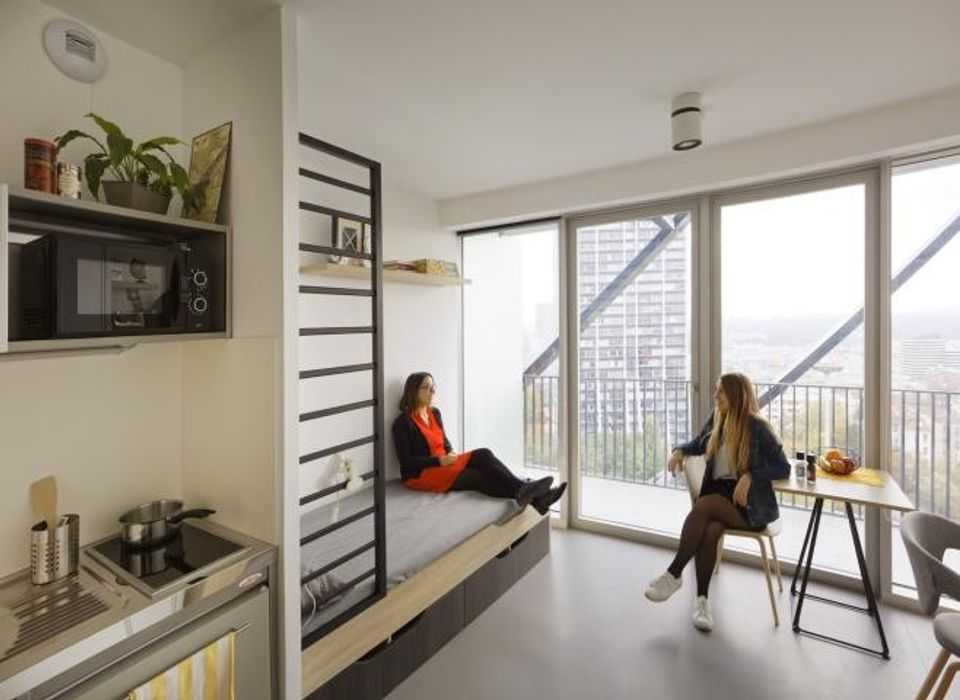 Student accommodation photo for Campusea La Defense Rose de Cherbourg in Puteaux, Paris