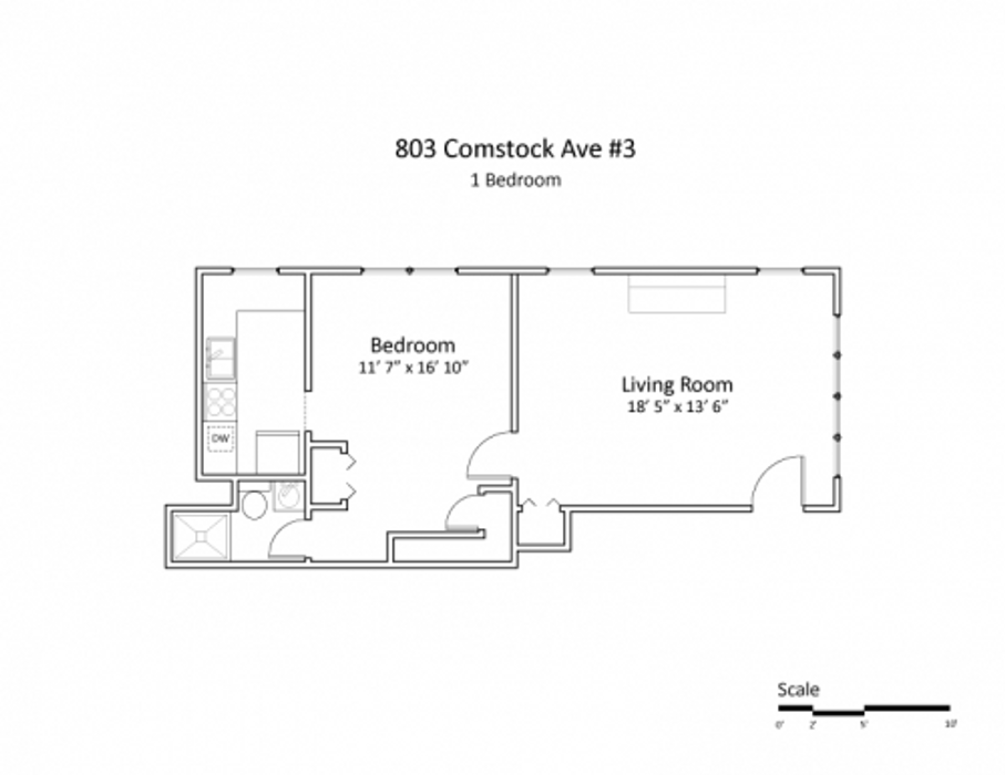 803 Comstock - Campus Hill