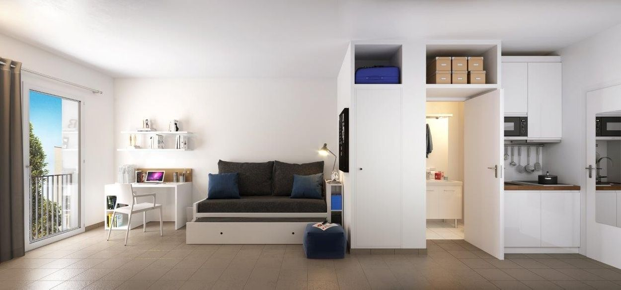 Student accommodation photo for Student Factory Aix-en-Provence Schuman in Central Aix-en-Provence, Aix-en-Provence