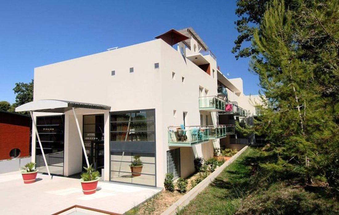 Student accommodation photo for Odalys Olympe in Juan-les-Pins, Antibes