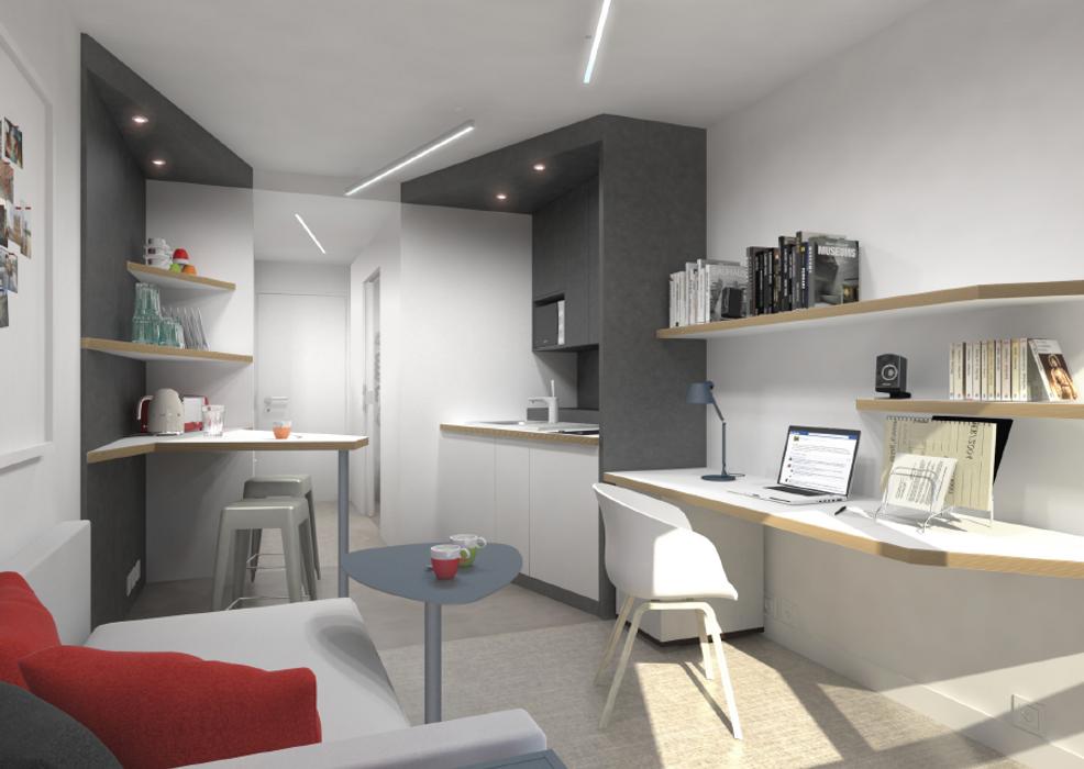 Student accommodation photo for Résidence Croizat in Villejuif, Paris