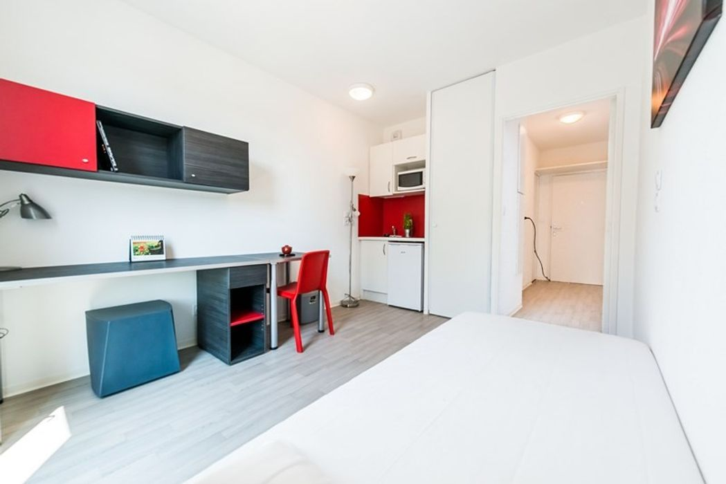 Student accommodation photo for Cardinal Campus Studio 9 in 9th arrondissement, Lyon