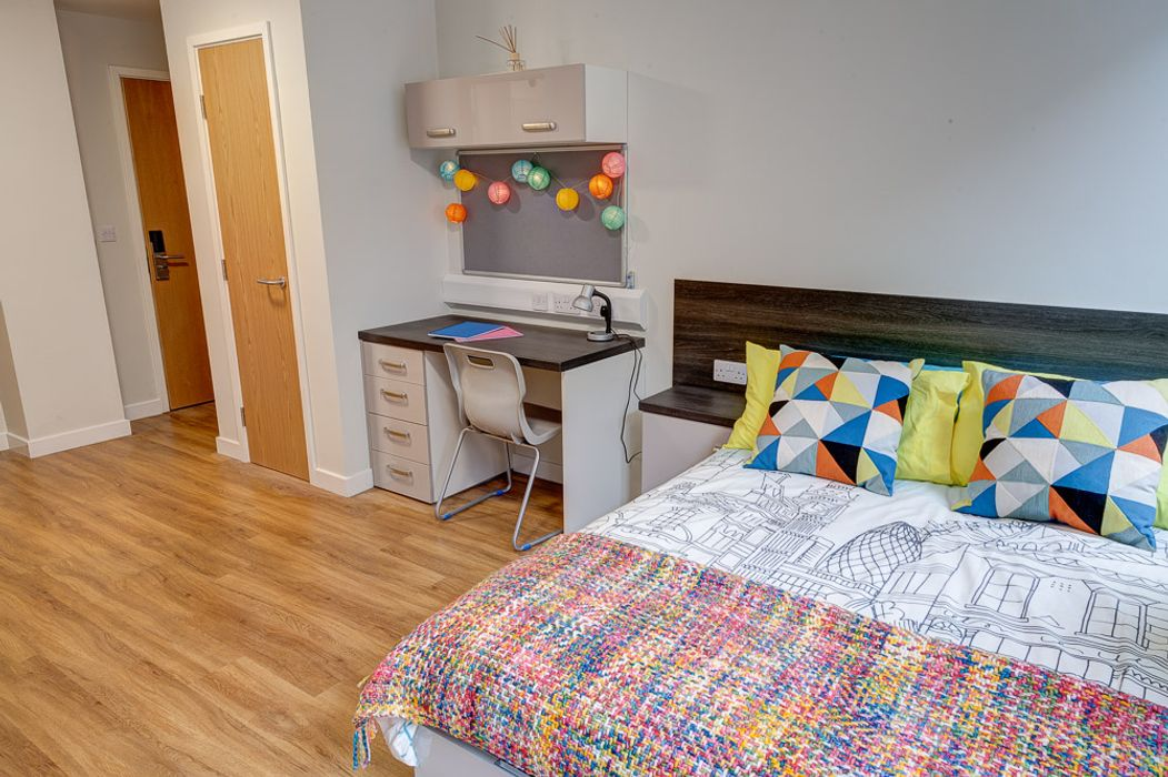 Student accommodation photo for Robert Owen House in Glasgow City Centre, Glasgow