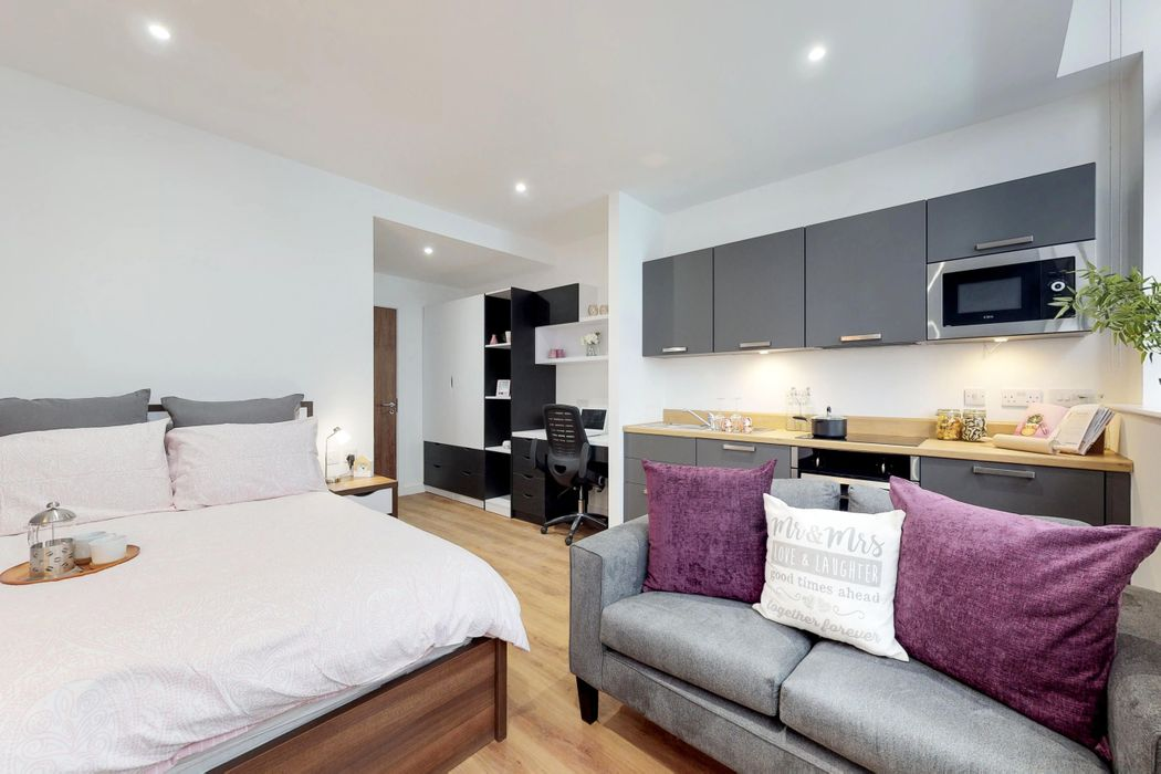 Student accommodation photo for Gravity Residence in Liverpool City Centre, Liverpool