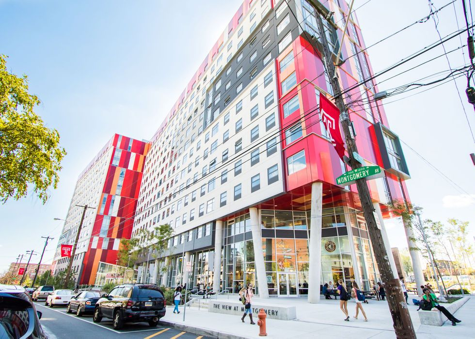 Student accommodation photo for The View at Montgomery in Temple University, Philadelphia