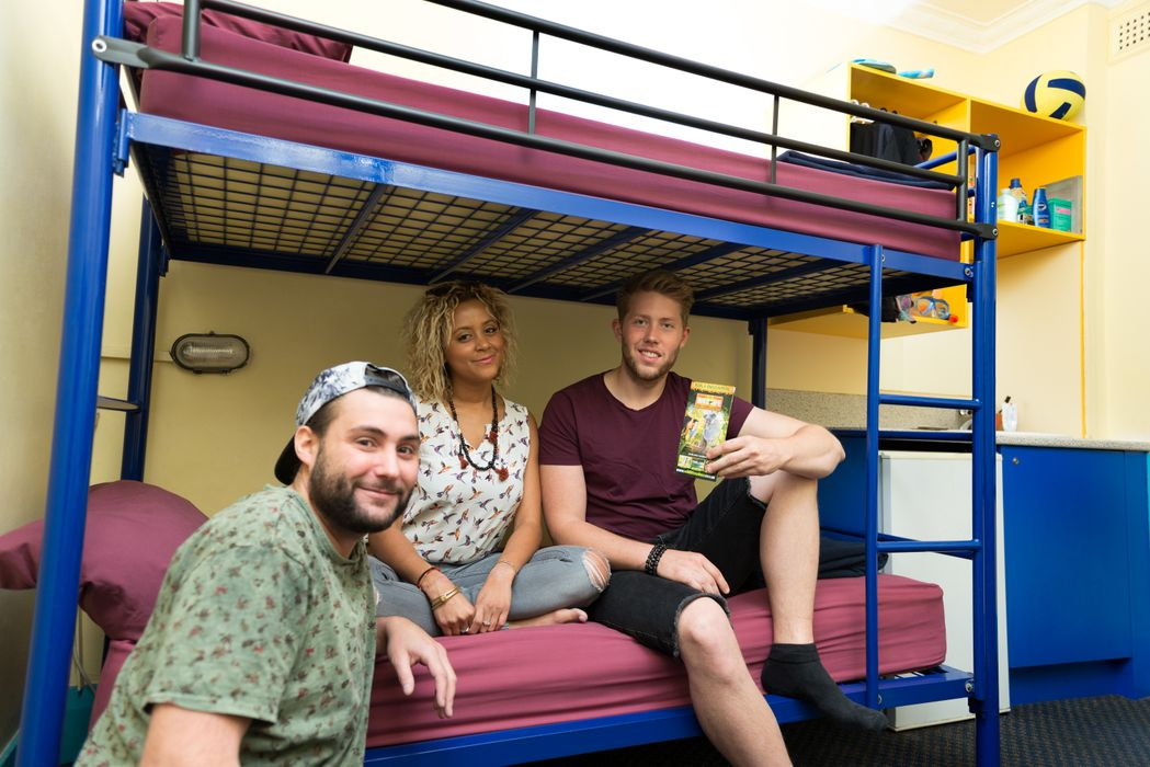 Student accommodation photo for Jolly Swagman Backpackers Sydney Hostel in Potts Point, Sydney