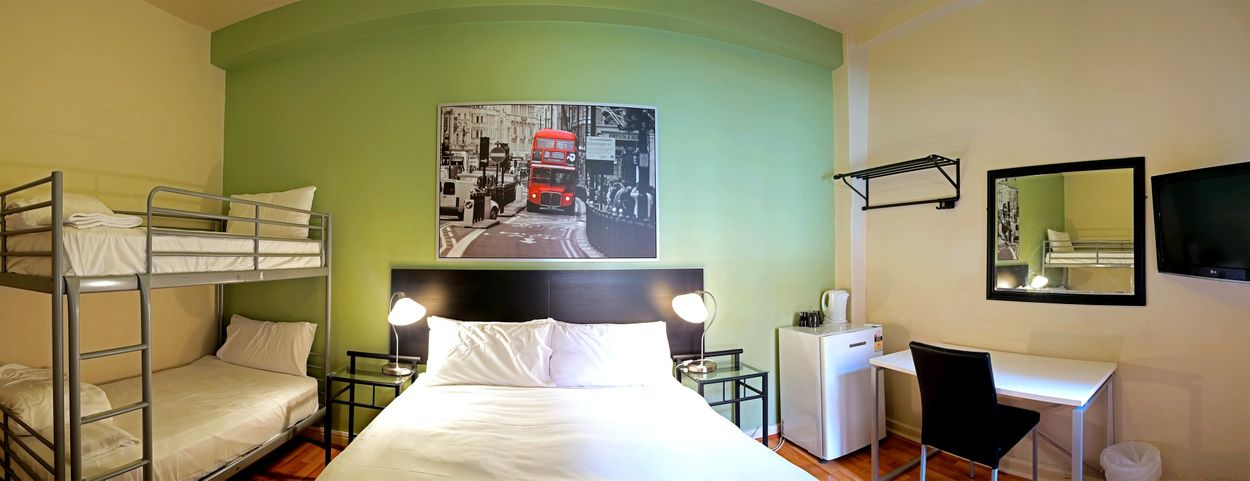 Student accommodation photo for City Centre Budget Hotel in North East Melbourne, Melbourne