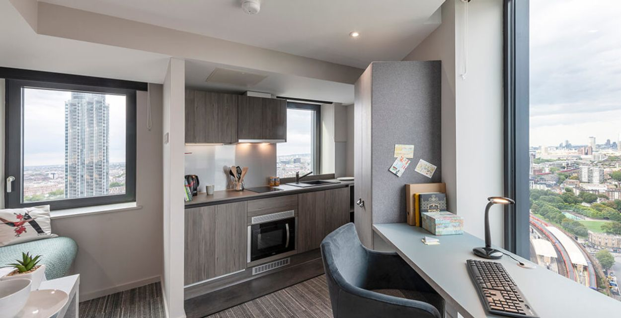 Student accommodation photo for Atlas King's College in Vauxhall, London