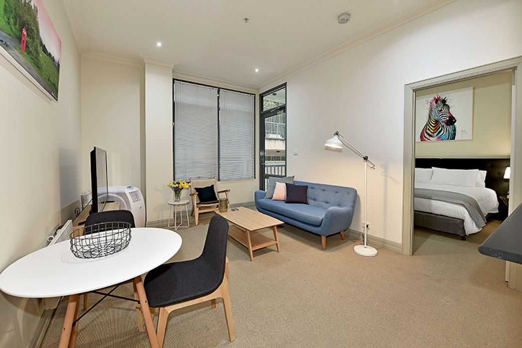 Student accommodation photo for Apartment Stay @ 104/402 La Trobe Street in Melbourne City Centre, Melbourne