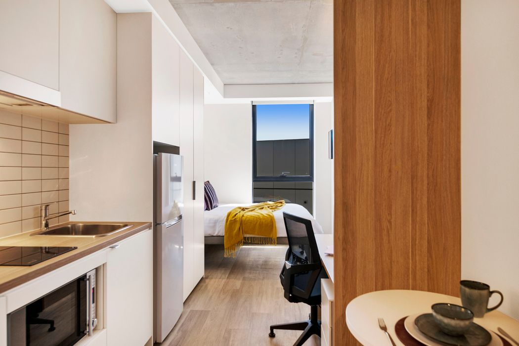 Student accommodation photo for Atira Peel Street Melbourne in Melbourne City Centre, Melbourne