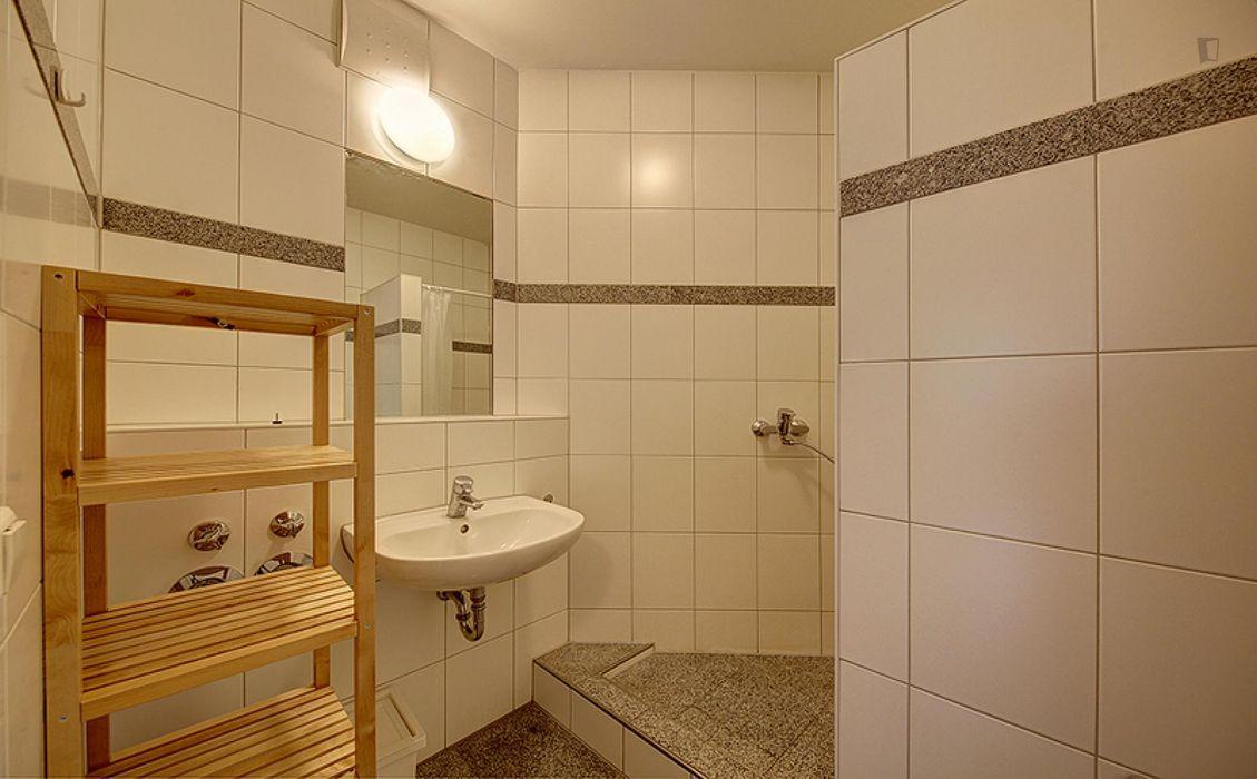 Pleasant single room in Bad Cannstatt