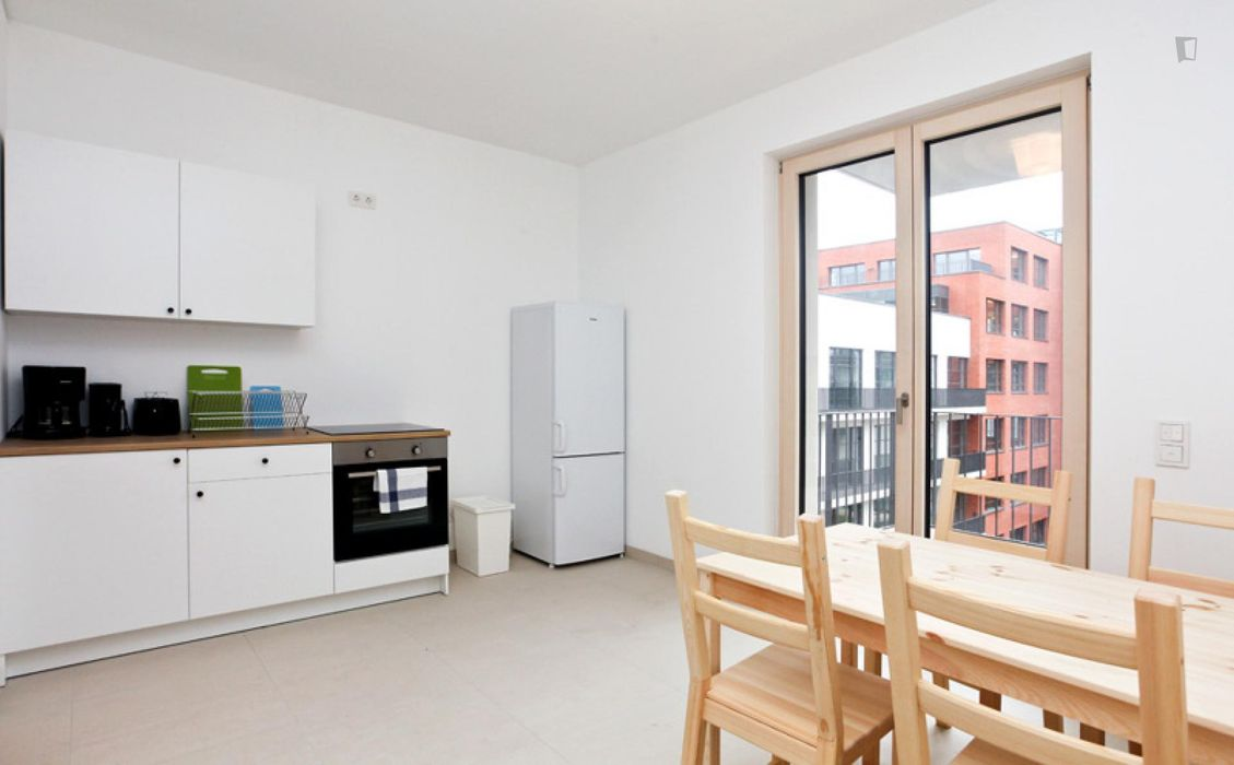 Marvellous double bedroom in Ostend