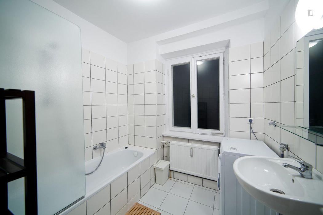 Suitable single bedroom close to Medizinische Poliklinik der Universität München