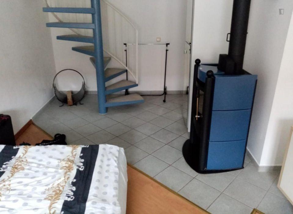 Wonderful 1-bedroom apartment in Munich, Schwabing right on Olympiapark