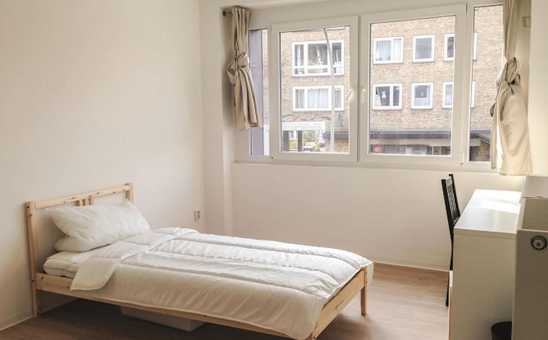Comfortable single bedroom not far from the Hamburg University of Applied Sciences