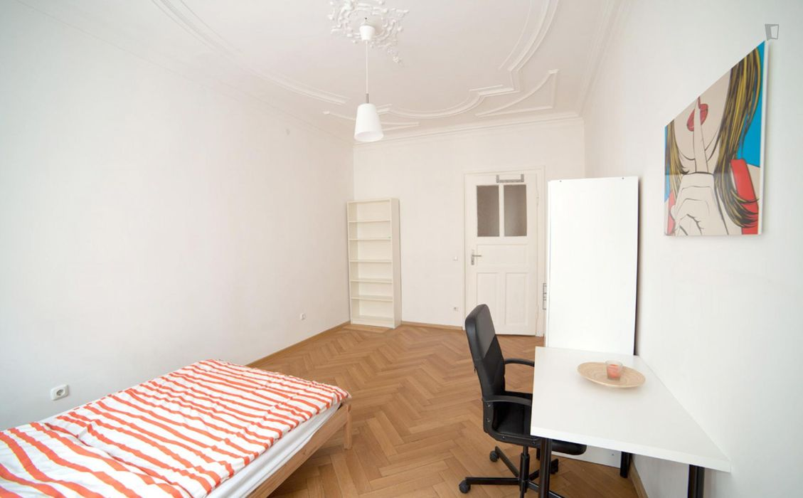 Welcoming single bedroom close to the Lehel metro