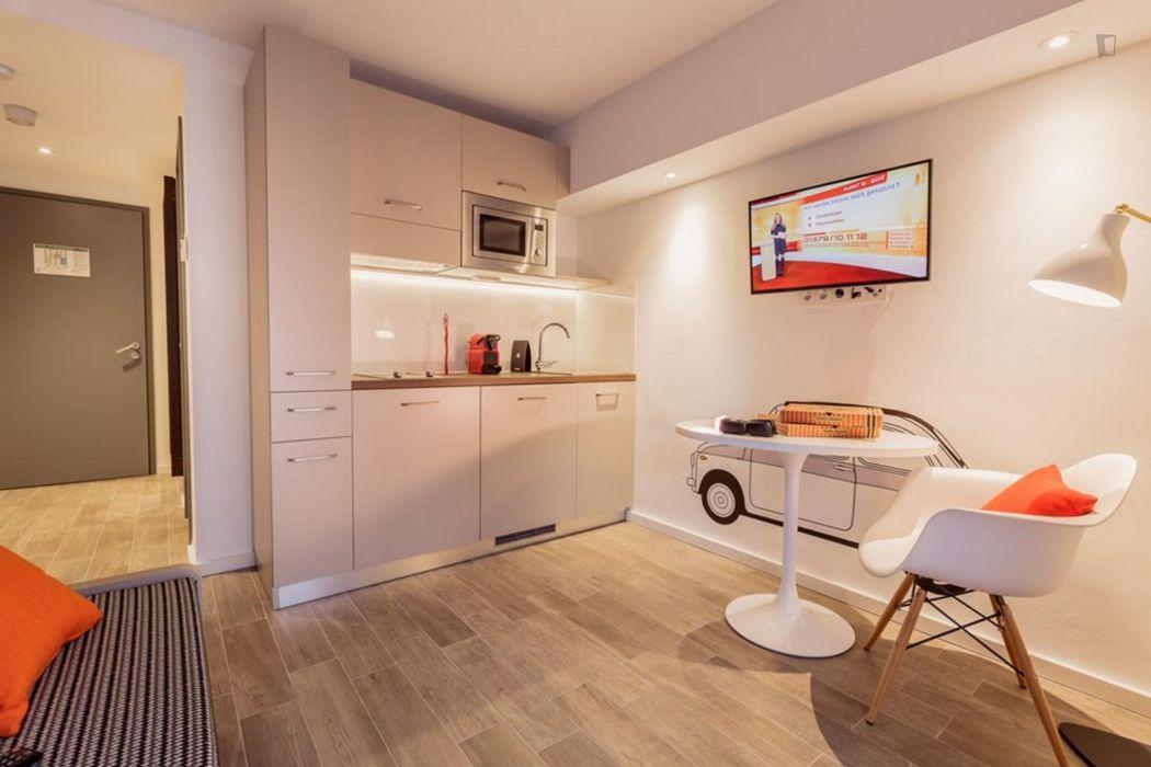 Comfy studio in the centre of Frankfurt