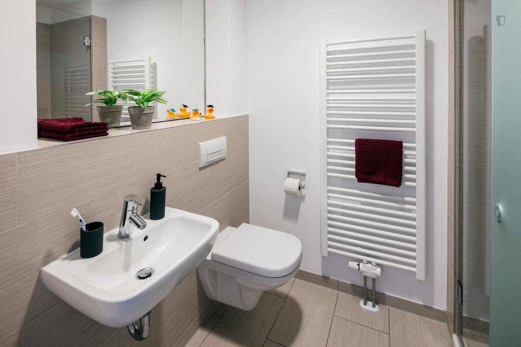 Stylish studio XL Platinum, in a residence near Park Sentmaring