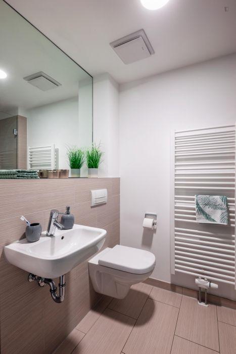 Cool studio S Platinum, in a residence near Park Sentmaring