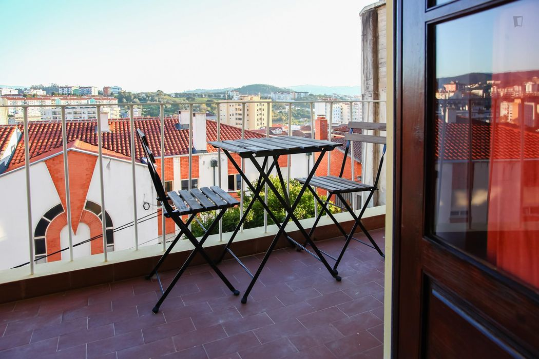 Cool looking 1-bedroom flat close to Universidade de Coimbra