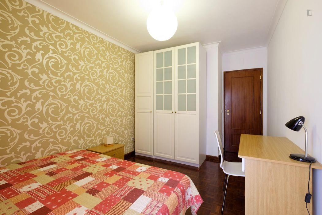 Charming single bedroom close to the Faculdade de Farmácia da Universidade de Coimbra