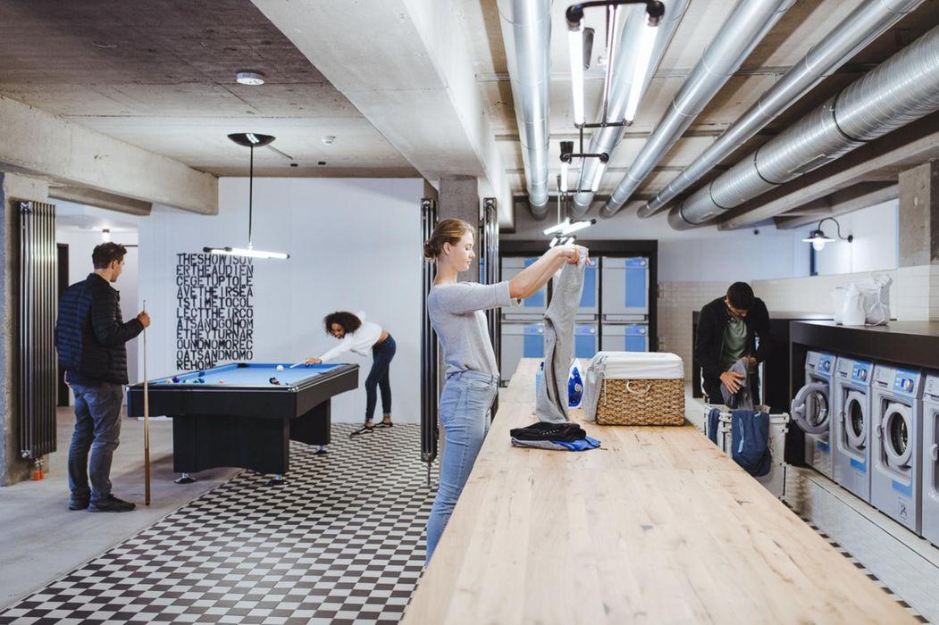 Fantastic studio in a student residence in Friedrichshain