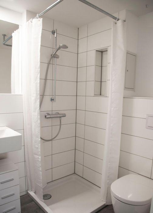 Spacious single bedroom in 4 bedroom apartment - .01.4