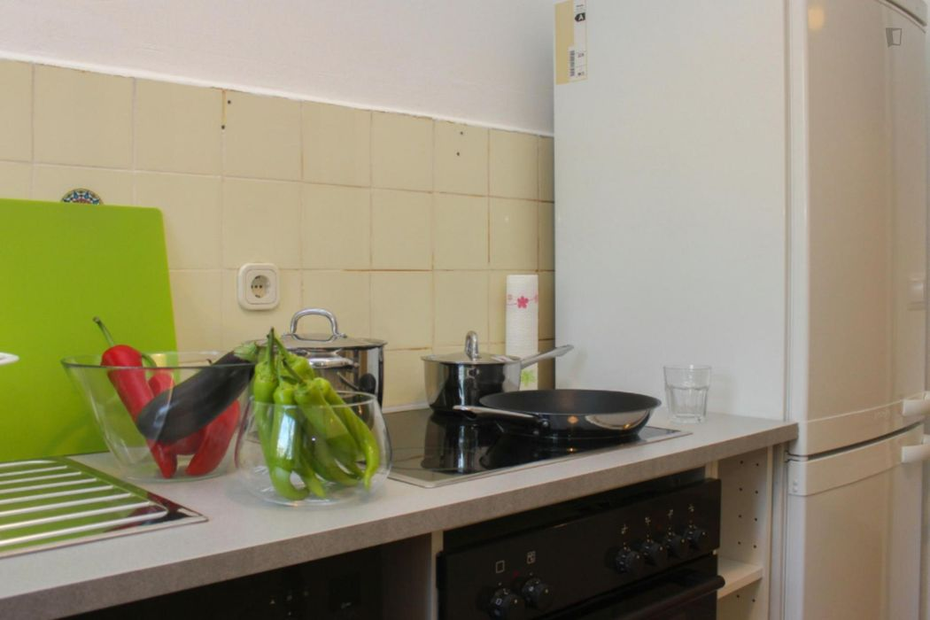 Fully furnished single bedroom in Neukölln