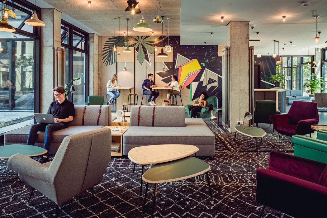 Nice studio with a balcony in Gesundbrunnen