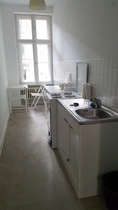 Single bedroom in a 4-bedroom apartment in Moabit