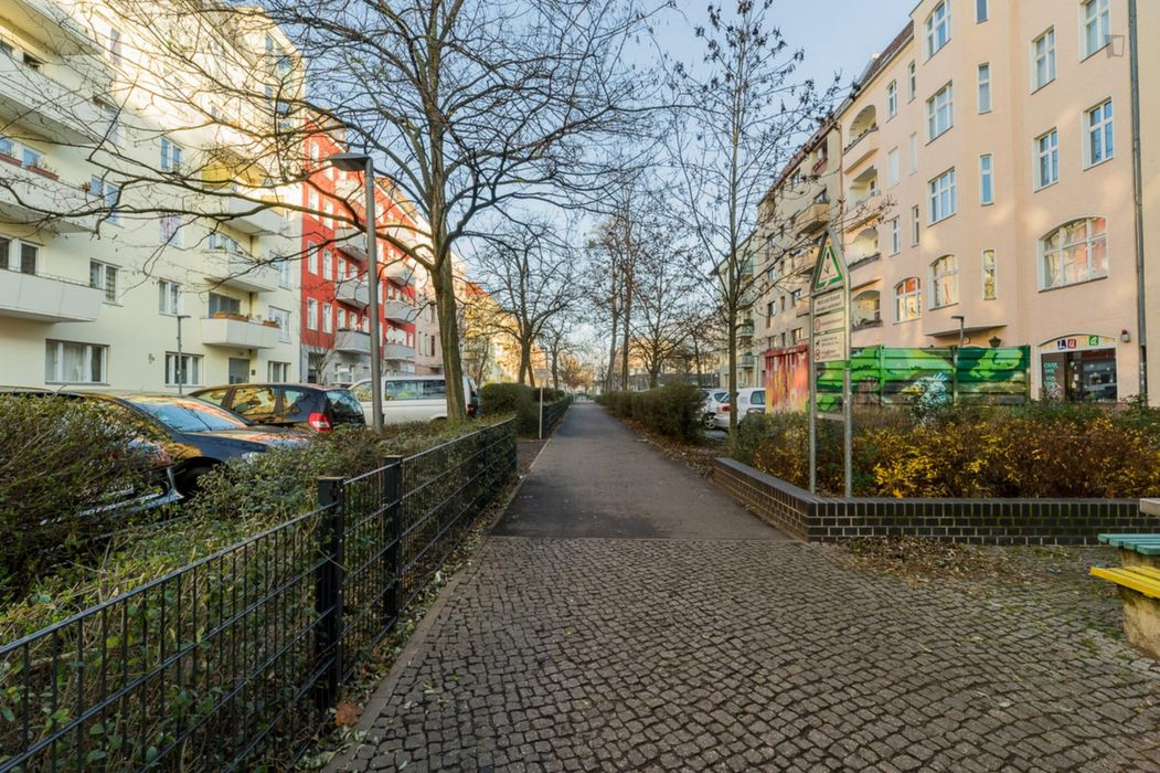 Bright studio in Berlin