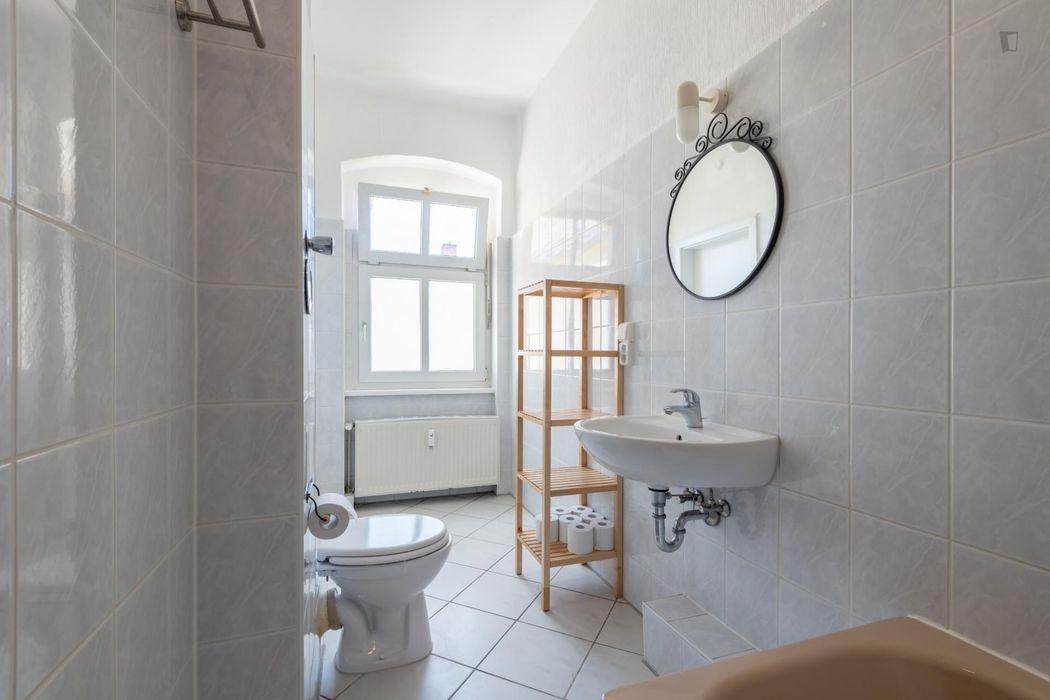 Inviting single bedroom in Oberschoeneweide