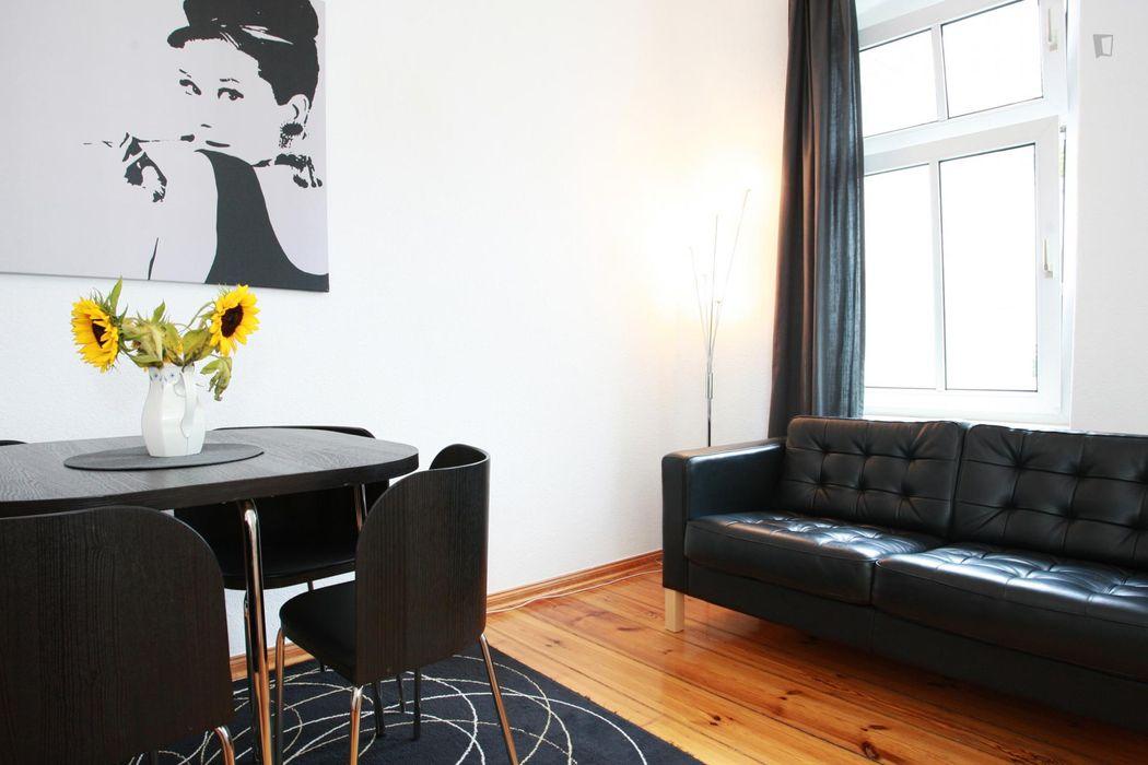 Good-looking 1-bedroom flat Prenzlauer berg