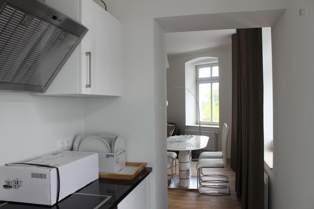 High-quality 1-bedroom flat close to Humboldt-Universität zu Berlin