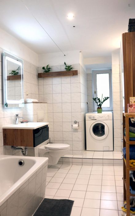 Spacious bedroom in Kreuzberg