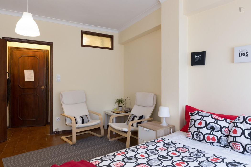 Wonderful and well-equipped studio not far from Casa da Música metro station (Porto)