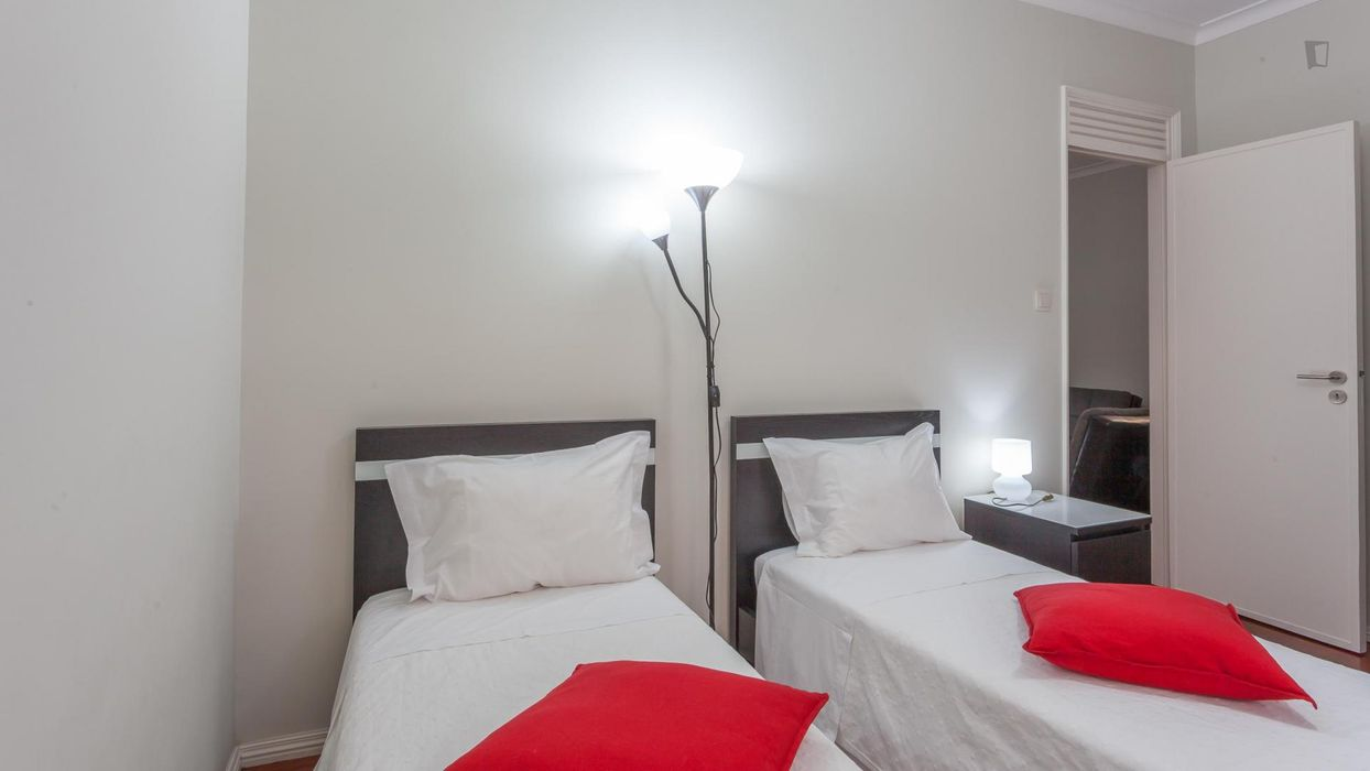 Fresh 3-bedroom apartment in riverside São Nicolau