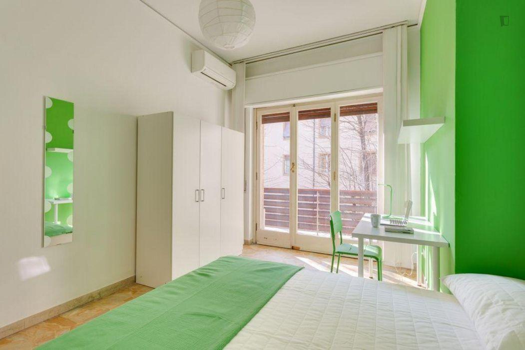Charming double bedroom near Università degli Studi di Firenze