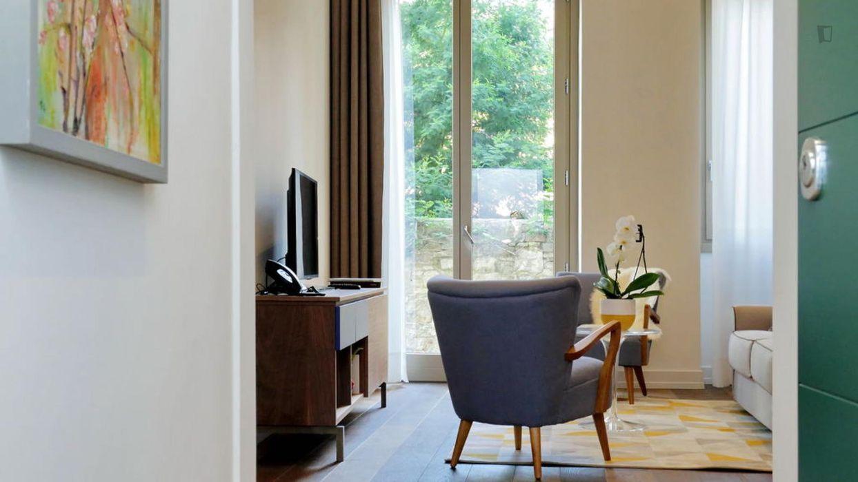 Beautiful one-bedroom apartment in Statuto
