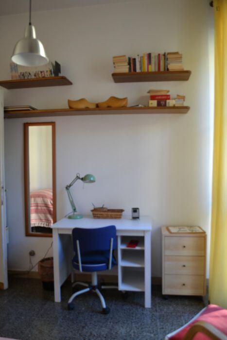 quiet single bedroom near University of Florence - School of Agriculture