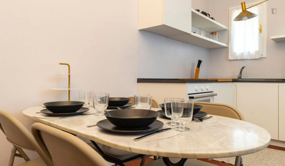 Alluring 1-bedroom flat in the centre of Bologna