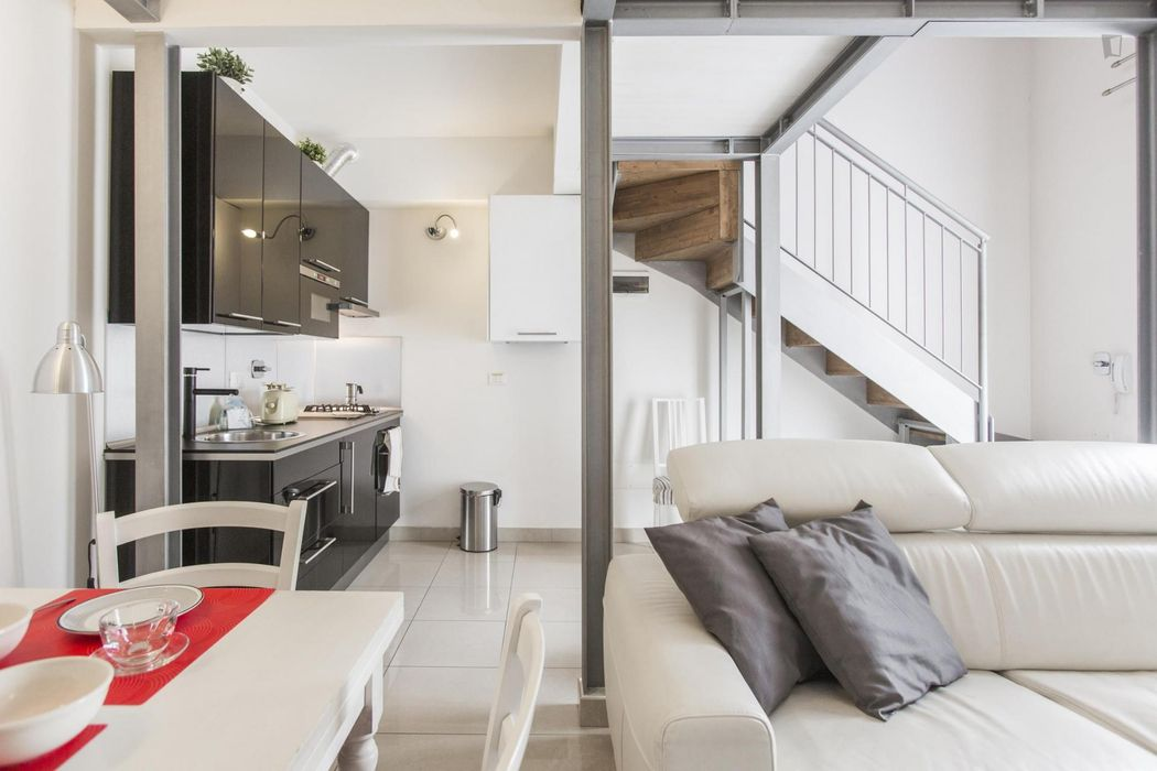 Cool loft in Bologna city centre