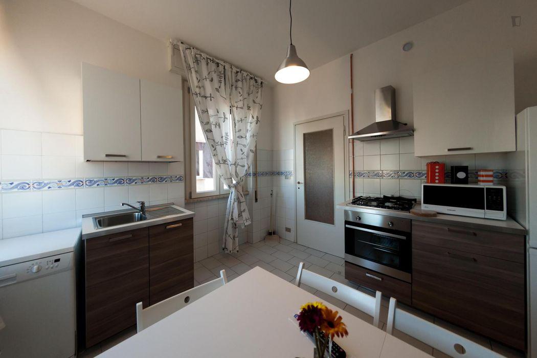 Alluring single bedroom near Porta Maggiore