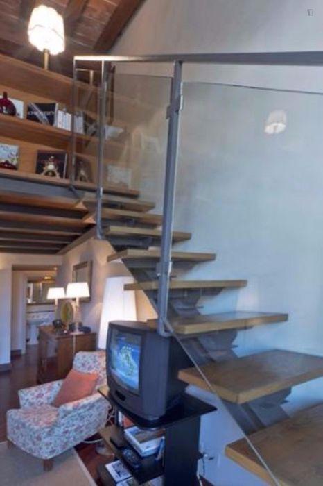 Luxurious loft studio near Basilica di Santo Spirito