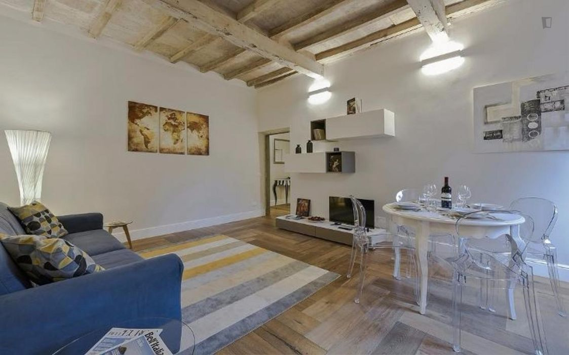 Cheerful 1-bedroom apartment close to Piazza Pitti