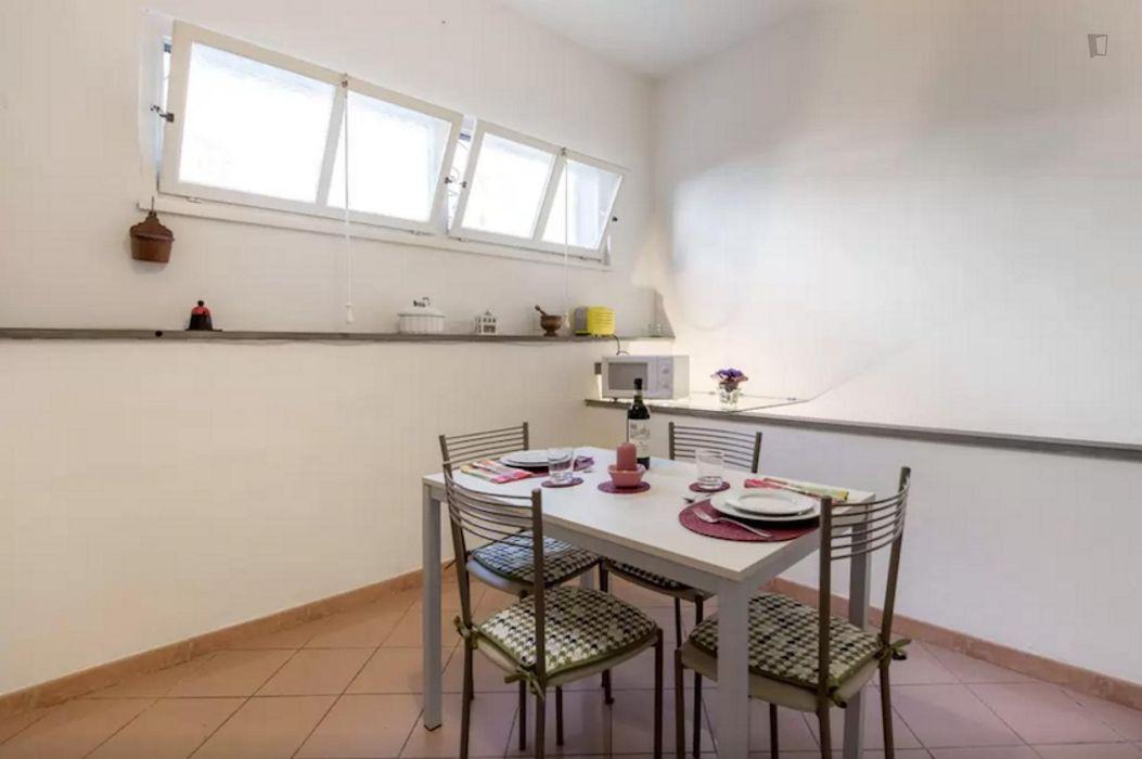Pleasant 1-bedroom duplex near the Campo di Marte train station