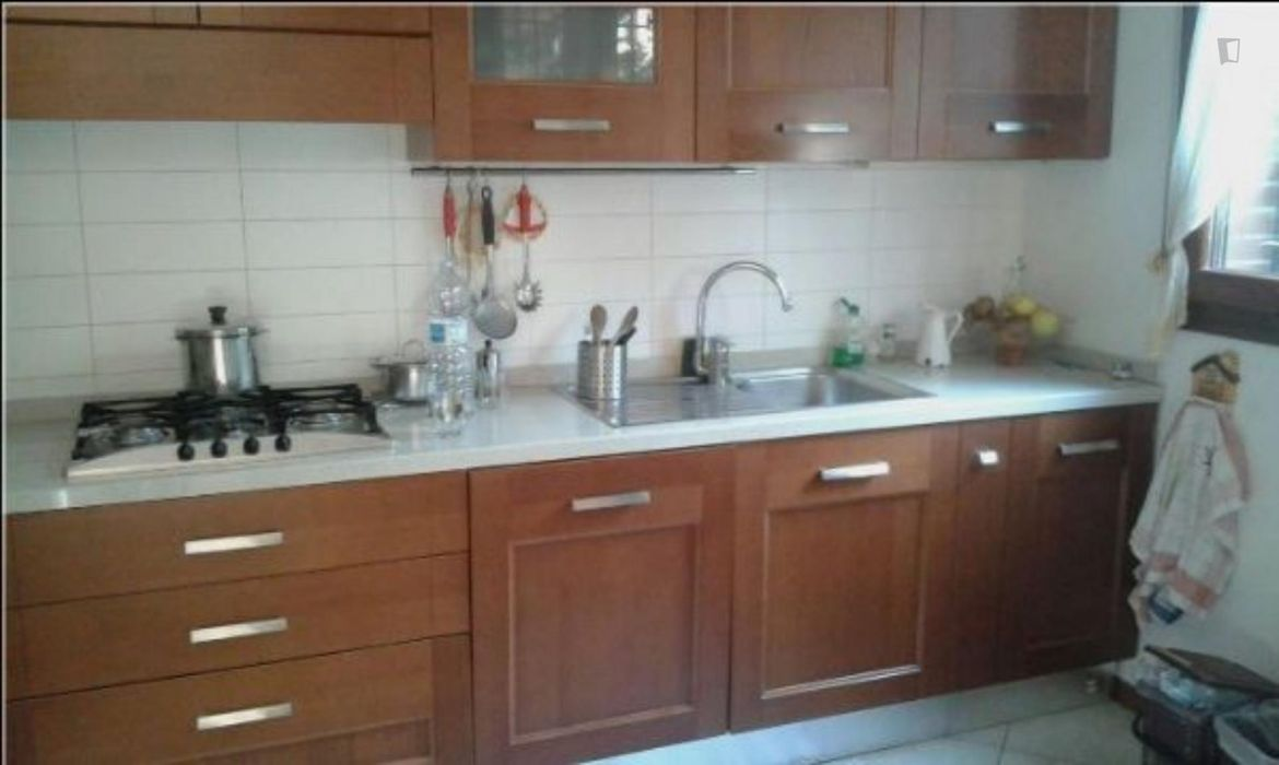 Cool Double Bedroom with private bathroom near Stadio